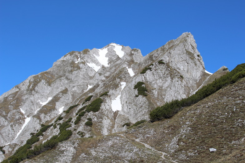 Gipfel der Lattenspitze