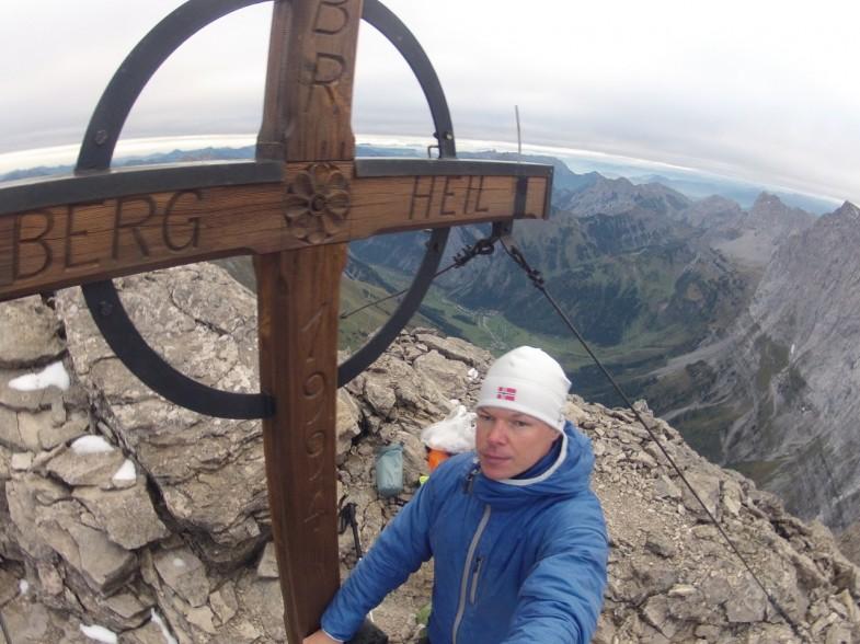 Am Gipfel der Dreizinkenspitze