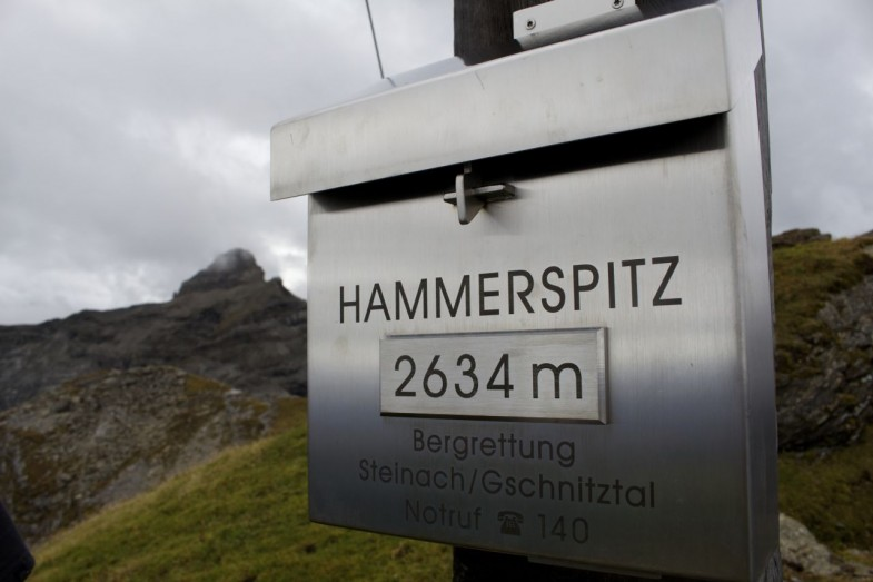 Hammerspitz 2634m