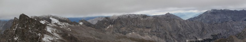 Am Gipfel der Laliderer Spitze