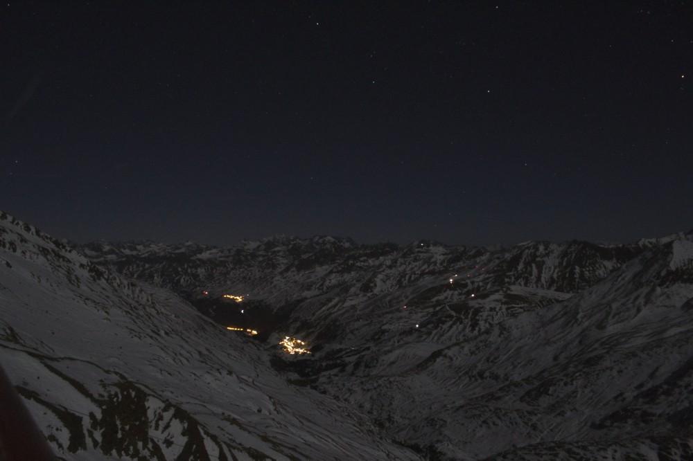 Obergurgl by night