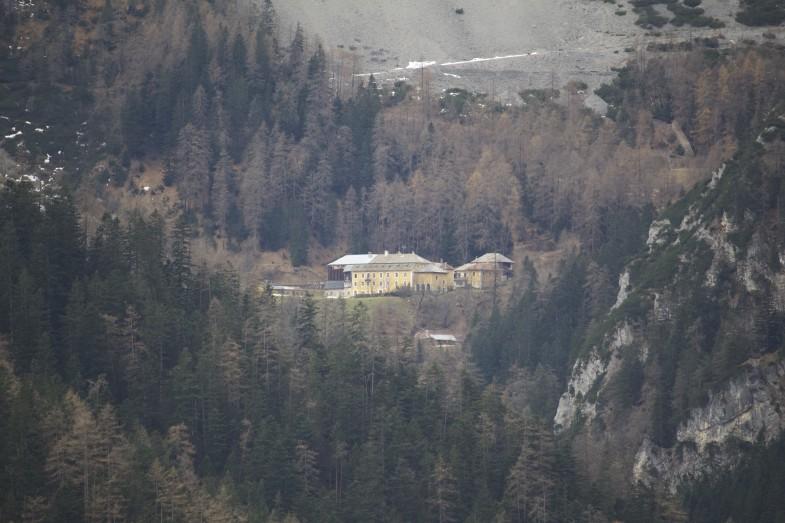 Blick Herrenhäuser im Aufstieg zur Alpensöhne Hütte