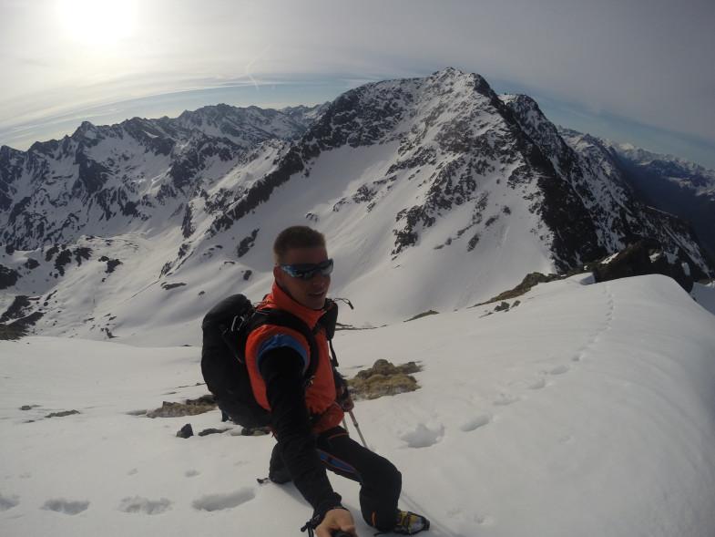 Gipfelflanke Hochgrubach, gegenüber Hochreichkopf
