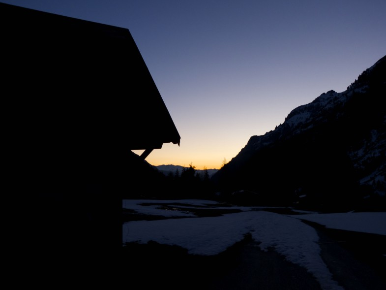 Sunrise an der Laponesalm