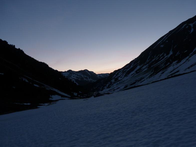 Traumhafter Morgen im Längental