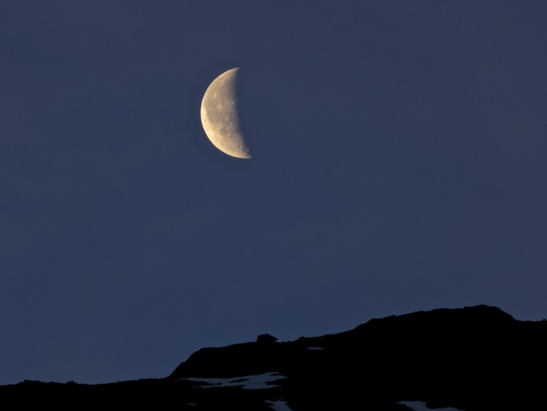Mond im Kühtai