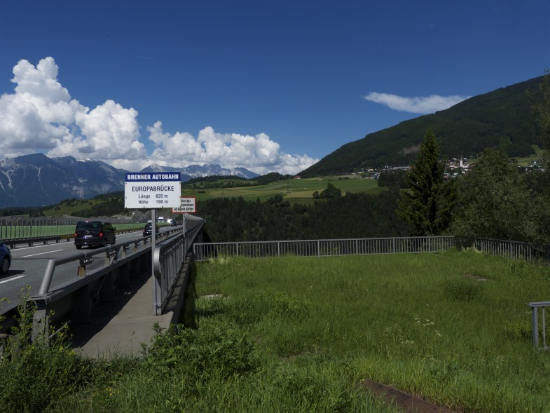 Europabrücke, bald wieder zu Hause