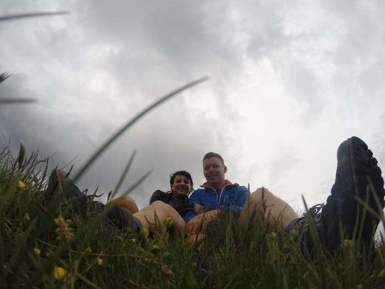 Sonja und Ich am Silleskogel