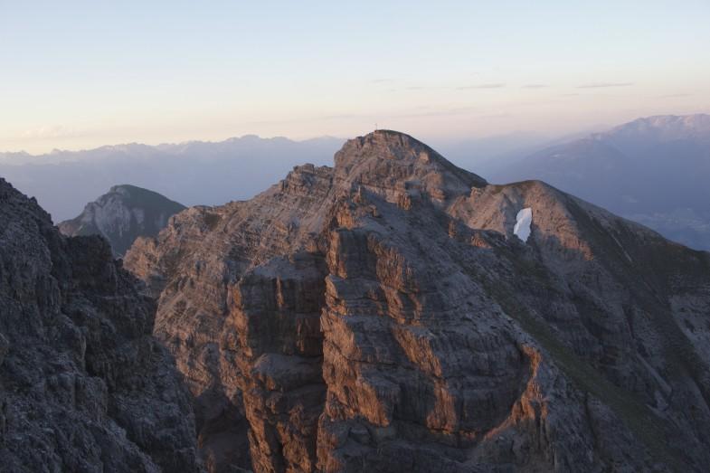 Sonnenuntergang Ampferstein