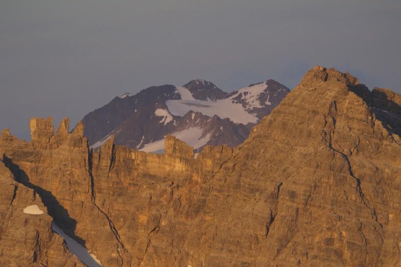 Ruderhof- Östliche Seespitze mit Schlicker Seespitze im Vordergrund