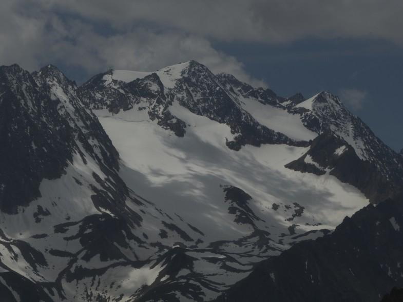 Hintere Sommerwand, dahinter die östliche Seespitze