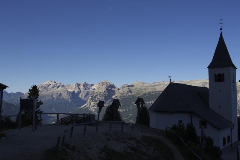Heiligkreuz etwas oberhalb der Bergstation