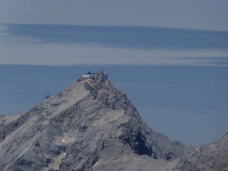 Ausblick zur Zugspitze