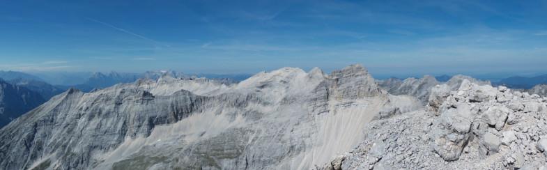 Gipfelpanorama auf der KWKSpitze