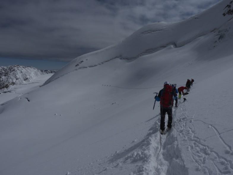 Abstieg Wildspitze
