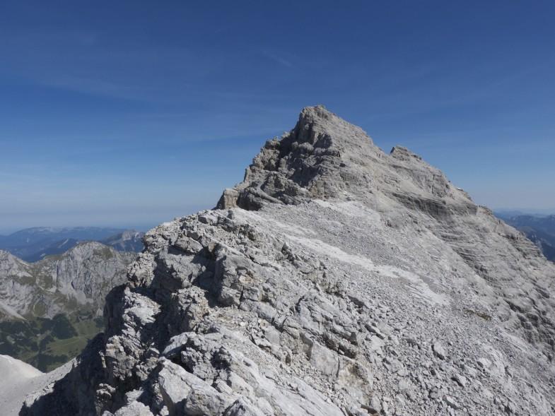 Die letzten Meter auf den Gipfel ziehen sich dann noch etwas in die Länge :-D