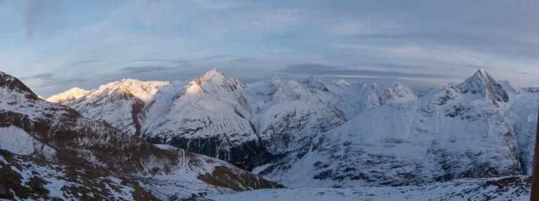 Panorama an der Breslauerhütte