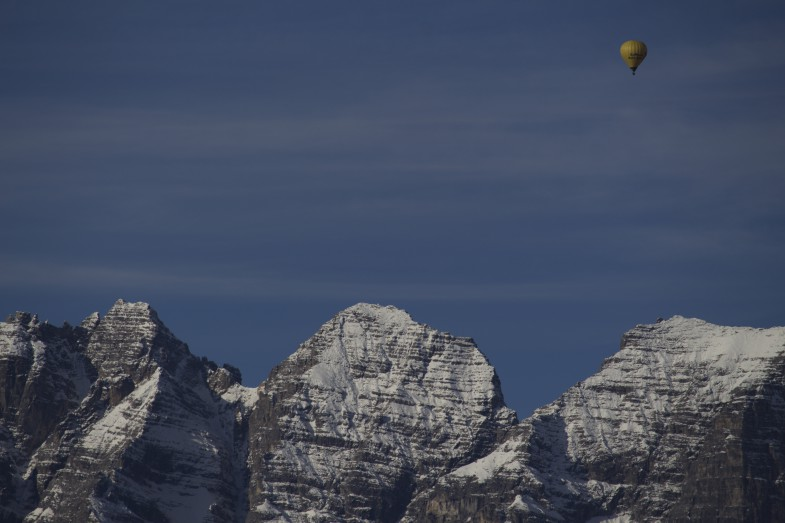 Balloning over Große Ochsenwand