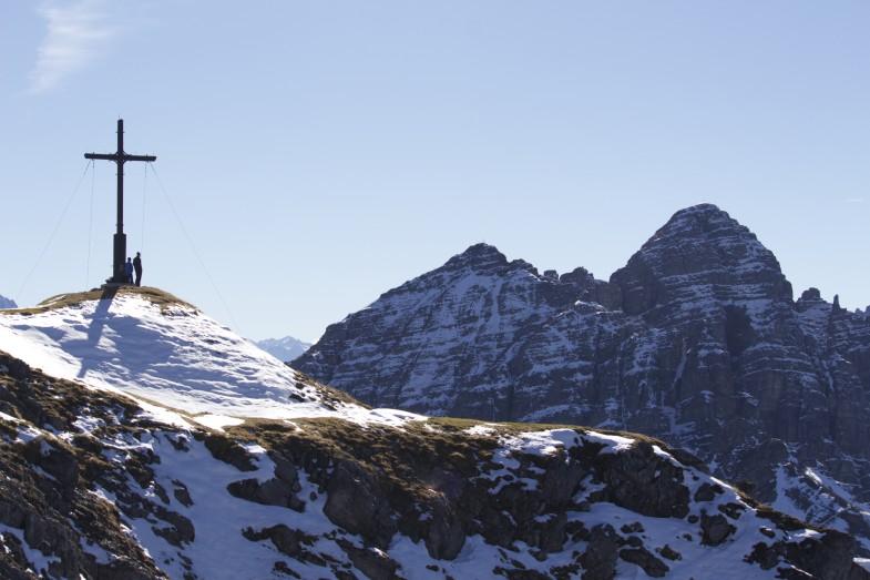 Blick von der Nockspitze zur Soale, Ampferstein und Marchreisenspitze