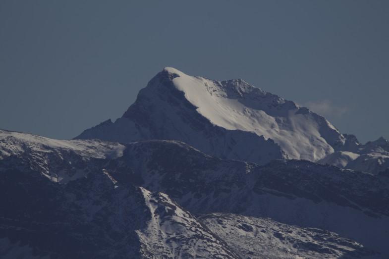 Gipfelflanke Grabspitze, mit Skiern sehr zu empfehlen