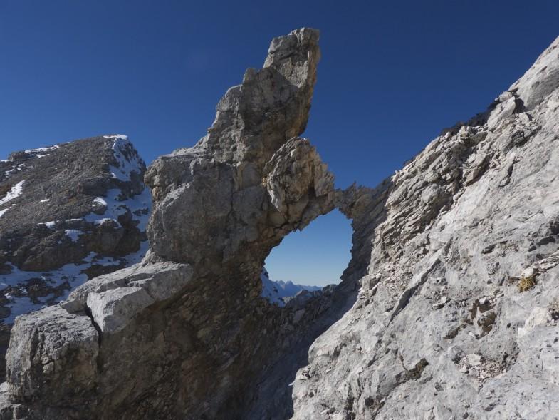 Felsformation im Übergang zur Östlichen Praxmarerkarspitze