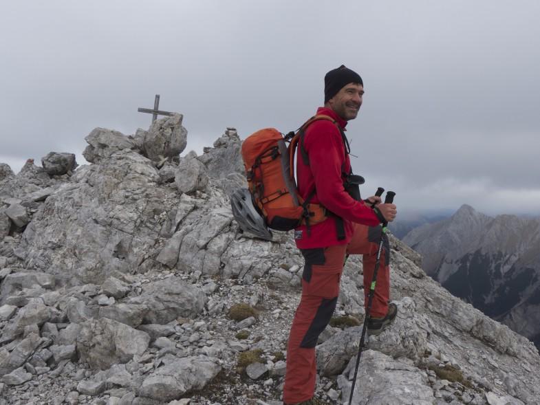 Flo am Unbenannten Gipfel