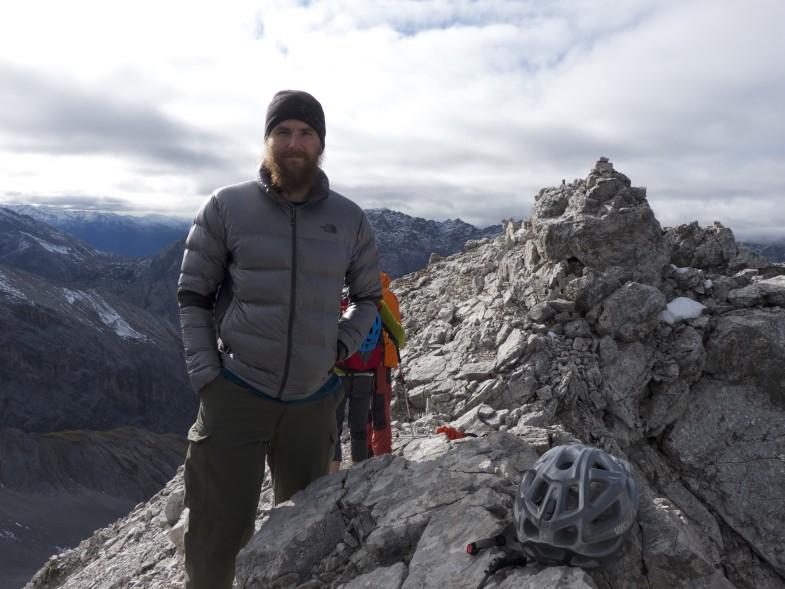Sepp Unterwurzacher alias Simon Ostermann am Unbenannten Gipfel :-D