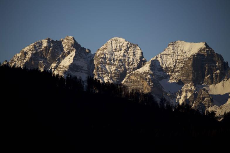 Schlicker Mandeln- Schlicker Seespitze- Riepenwand und die Große Ochsenwand