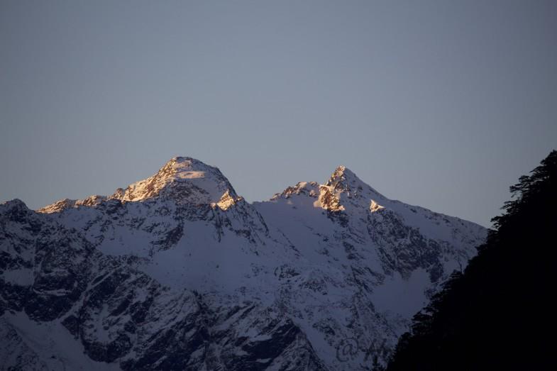 Schneespitz und Östlicher Feuerstein