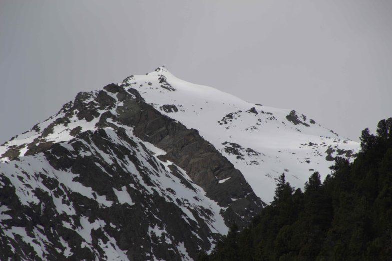 Da geht es hinauf zur Brennerspitze