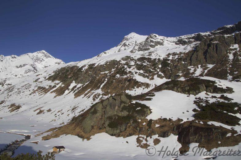 """Das Spitzel in Bildmitte ist die """"Vorhut"""" des richtigen Gipfels :-D"""