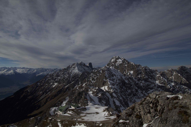 Hafelekarspitze hoch über Innsbruck