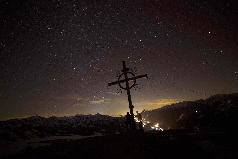 Sattelberg by night