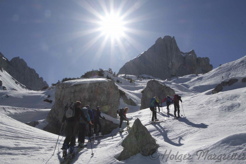 Skitourenstudie Tag 4
