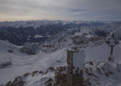 Am Gipfel der Rofanspitze 2259m mit traumhaftem Ausblick