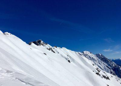 Blick zur Lattenspitze