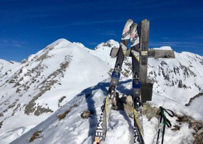Am Gipfel Thaurer Jochspitze
