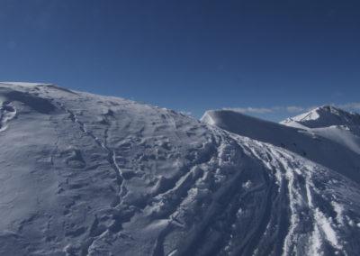 Blick zum Gipfel Scheibenspitze