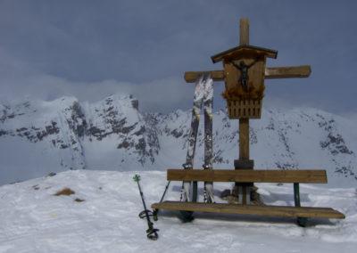 Auf der Wildangerspitze