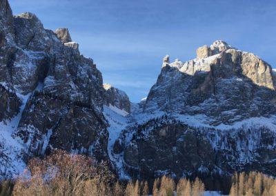 Erster Blick auf das Val Mesdi