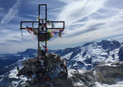 Gipfel des Piz Boe
