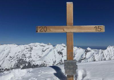 Am Gipfel des großen Lafatscher 2696m