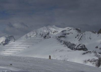 Blick auf den zweiten Gipfel