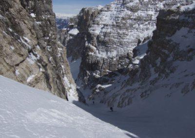 Einfahrt in das Val Mesdi