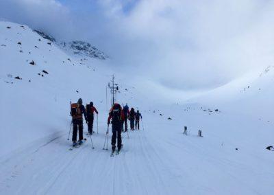 Am Weg zur Hinteren Jamspitze