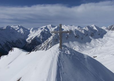 Gipfelkreuz Basslerin