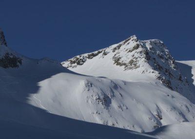 Links die Steilstufe