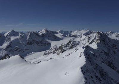 Östliche- Westliche Seespitze und Ruderhofspitze