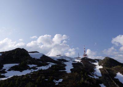 Patscherkofl- Gipfel aus einer anderen Höhe