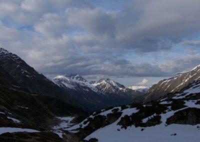 Blick talauswärts zur Schlicker Seespitze